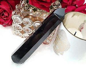 Bastão de Obsidiana Negra para aplicação de Massagem energética
