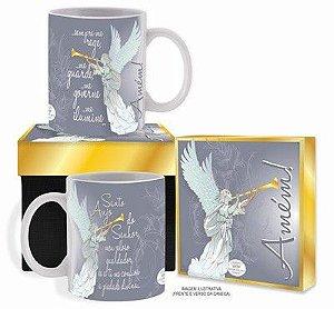 Caneca com caixa - Santo Anjo