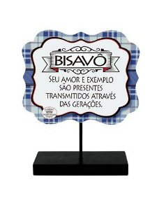 Placa de mesa - Bisavô