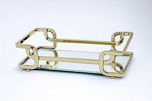 Bandeja Luana 10x20cm - Golden