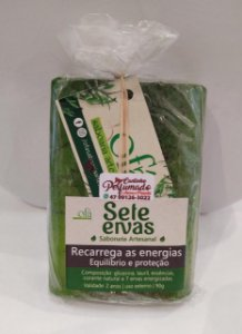 Sabonete Artesanal - Sete Ervas