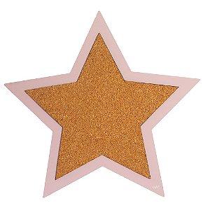 Mural de fotos cortiça - Estrela