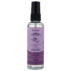 Spray Antisséptico para mãos 100ml - Lavanda