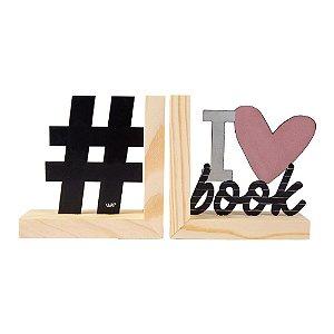 Aparador de Livro - I love Book