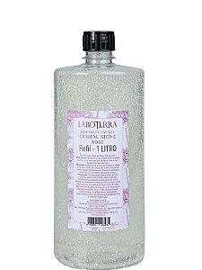 Refil Sabonete em gel 1L- Cristal Stone Rose