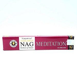 Incenso massala Golden 15g - Nag Meditation