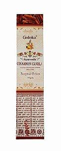 Incenso Galoka Ayurvedic 15g - Cinnamon