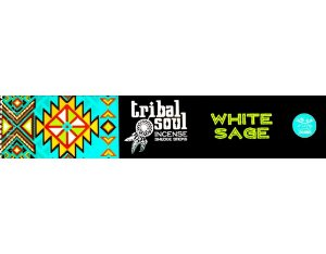 Incenso Tribal Soul 15g - White Sage