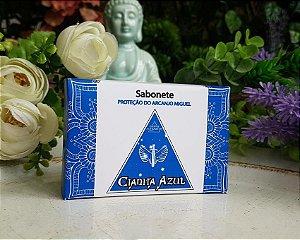 Sabonete Proteção Arcanjo Miguel - Cianita Azul