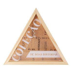 Porta Rolha Triangulo - Coleção de boas Histórias