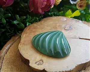 Concha de Quartzo Verde 18g