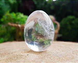 Mini Ovo de Pedra 40g - Cristal
