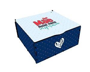 Kit Gin na caixa MDF com Especiarias - Mãe
