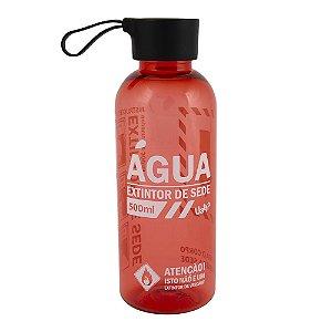 Garrafa com alça silicone 500ml - Extintor de sede