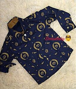 Camisa  Salomão-Manga Longa