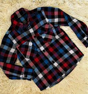 Camisa Flanelada Infantil