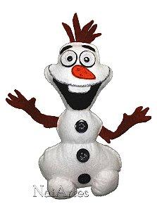 Boneco de Feltro Orloff Frozen
