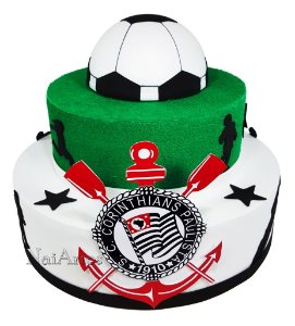 Time Futebol Corinthians - Bolo Fake