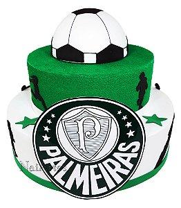 Time Futebol Palmeiras- Bolo Fake