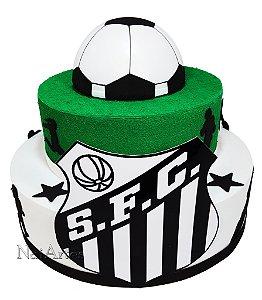 Time Futebol Santos - Bolo Fake