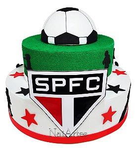 Time Futebol São Paulo - Bolo Fake