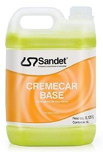 Cremecar Base Shampoo Sandet 5Lts
