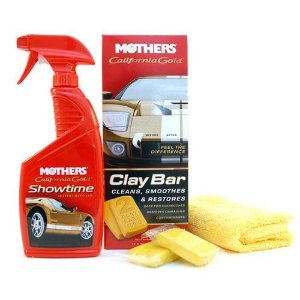 Mothers Kit Clay Bar Removedor de Contaminações