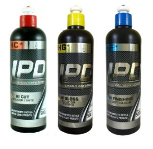 Kit Polimento Lincoln LPD Corte, Refino e Lustro