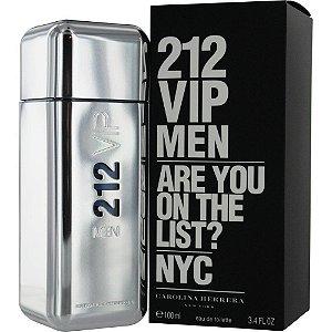 212 Vip Men Eau de Toilette Carolina Herrera - Perfume Masculino