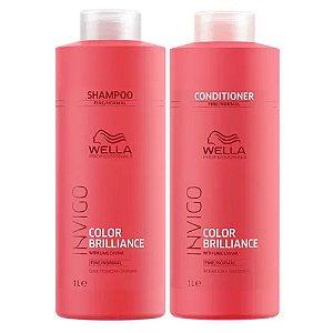 Kit Invigo Color Brilliance Wella Professionals Shampoo + Condicionador 1L