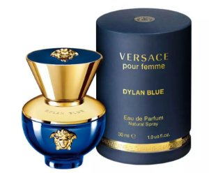 Dylan Blue Eau de Parfum Versace 30ml - Perfume Feminino