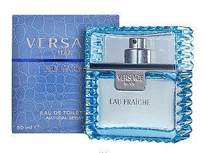 Versace Man Eau Fraîche Eau de Toilette 50ml - Perfume Masculino