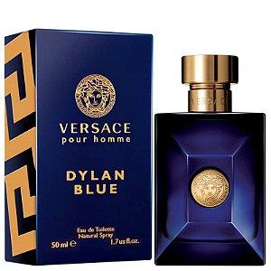 Dylan Blue Eau de Toilette Versace 50ml - Perfume Masculino