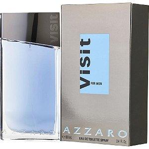 Visit For Men Azzaro Eau de Toilette 100ml - Perfume Masculino