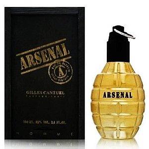 Arsenal Gold Eau de Parfum Gilles Cantuel 100ml - Perfume Masculino