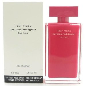 Tester Fleur Musc Narciso Rodriguez Eau De Parfum 100ml - Perfume Feminino