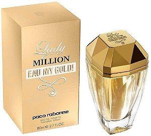 Lady Million Eau my Gold Eau de Toilette Paco Rabanne - Perfume Feminino