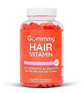 Gummmy Hair Vitamin 60 cápsulas Melancia