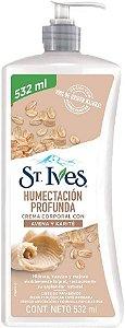 St. Ives Hidratação Profunda Aveia e Karité 532ml