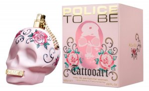 Police To Be Tattooart Eau De Parfum 125ml Perfume Feminino