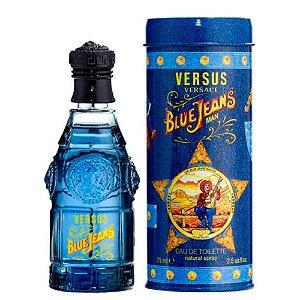 Blue Jeans Eau de Toilette Versace - Perfume Masculino - 75ml