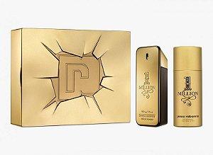 Kit 1 Million Edição Limitada Paco Rabanne Masculino - Eau de Toilette 100ml + Desodorante 150ml