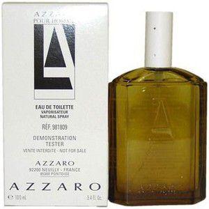 Tester Azzaro Pour Homme Eau de Toilette Azzaro 100ml- Perfume Masculino