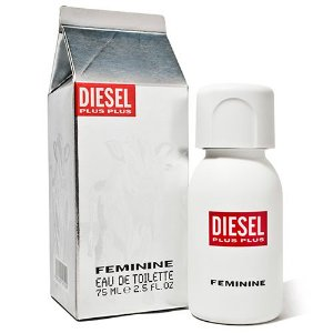 Plus Plus Eau de Toilette Diesel - Perfume Feminino 75ML