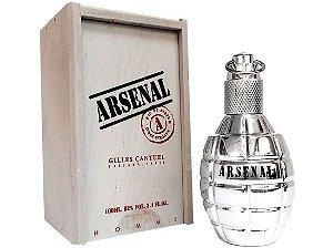 Arsenal Platinium Wood Eau De Parfum Gilles Cantuel 100ml - Perfume Masculino