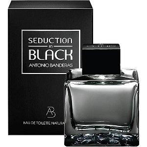 Seduction In Black Eau De Toilette - Antonio Banderas - Perfume Masculino