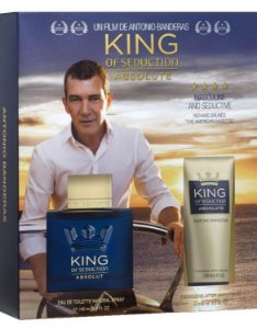 Kit King of Seduction Absolute Eau de Toilette Antonio Banderas - Perfume Masculino - 100ML + Pós Barba - 100ML
