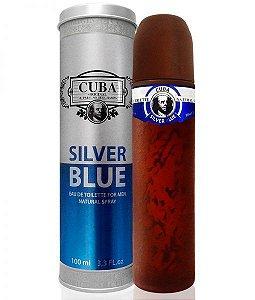 Cuba Silver Blue Eau de Toilette 100ml - Perfume Masculino