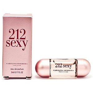 Miniatura Carolina Herrera 212 Sexy 5ml  - Perfume Feminino