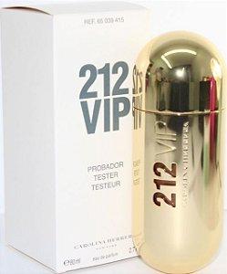 Tester 212 Vip Eau de Parfum Carolina Herrera - Perfume Feminino - 80ML